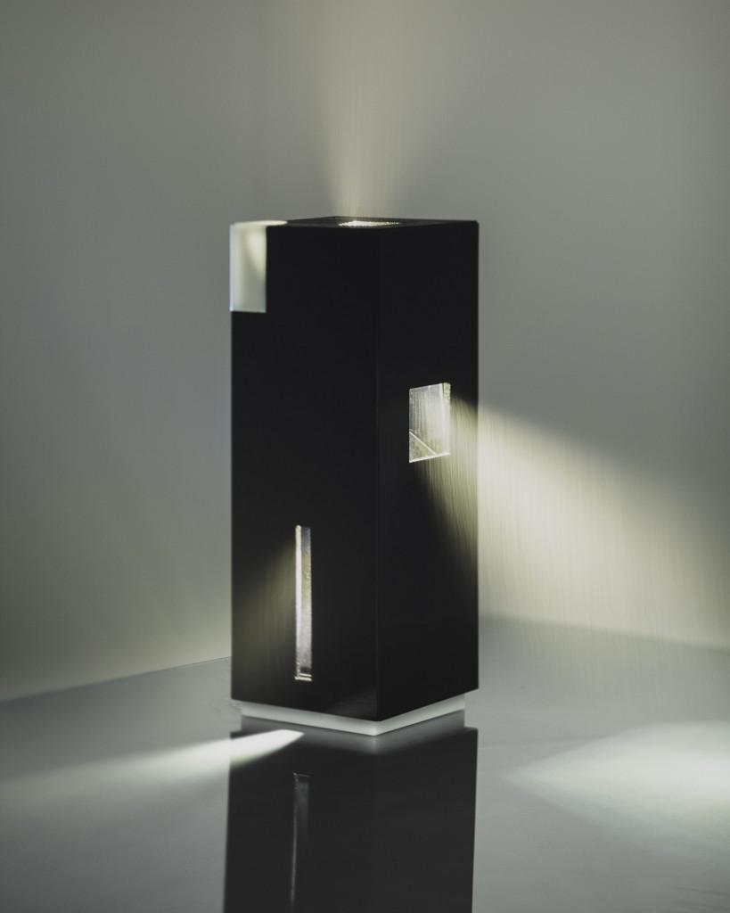black box table lamp